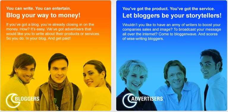 Screenshot: Blogwave Design