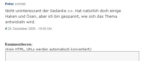 """Spam mit Haken und �??""""sen"""